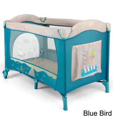 Манеж ліжечко Milly Mally Mirage Blue Bird
