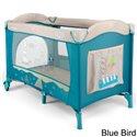 Манеж кровать Milly Mally Mirage Blue Bird