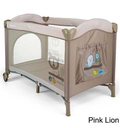 Манеж ліжечко Milly Mally Mirage Pink Lion