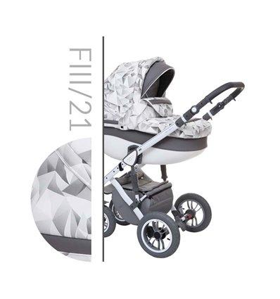 Детская коляска 2 в 1 Baby Merc Faster Style 3 21