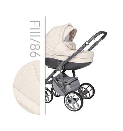 Детская коляска 2 в 1 Baby Merc Faster Style 3 86