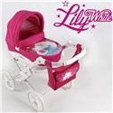 Коляска для куклы Adbor Lily White 02 Принцесса