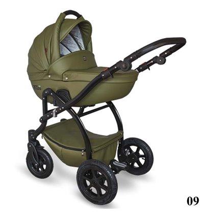 Детская коляска 2 в 1 Tutek Trido Eco 09 зеленая