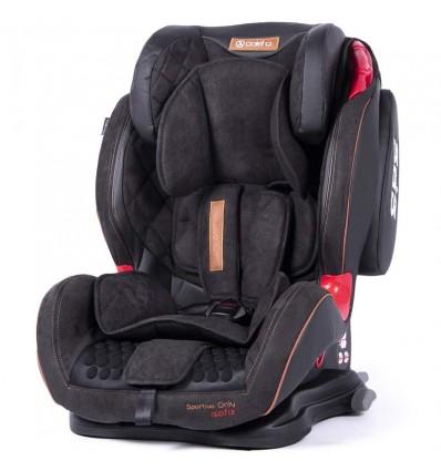 Автокресло детское Coletto Sportivo Only IsoFix черное, 9-36 кг