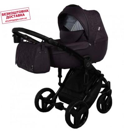 Детская коляска 2 в 1 Tako Junama Enzo 03 эко-кожа фиолетовая