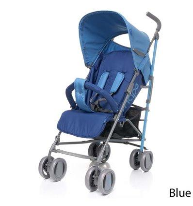 Детская прогулочная коляска 4Baby Shape синяя