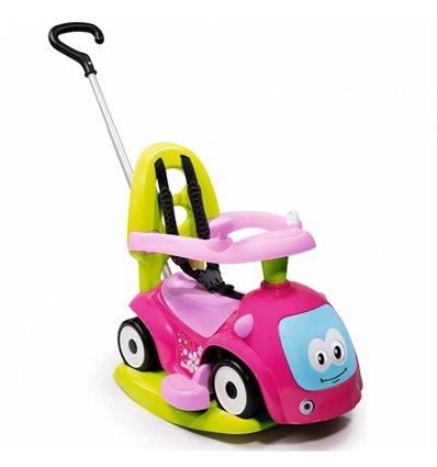 Машинка-каталка 4 в 1 Smoby Maestro Balade Pink 720303