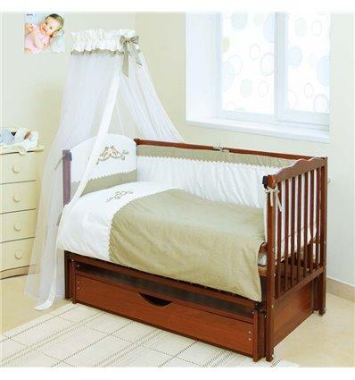Детская постель Twins Etno E-001 Пташки 7 предметов