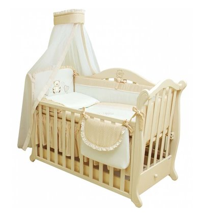 Детская постель Twins Romantik R-001 Горошки 8 предметов