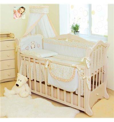Детская постель Twins Romantik R-002 Сердечка 8 предметов