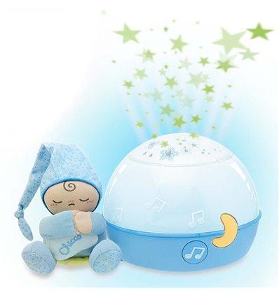 Проектор Chicco Спокойной ночи, Звезды - голубой 02427.20