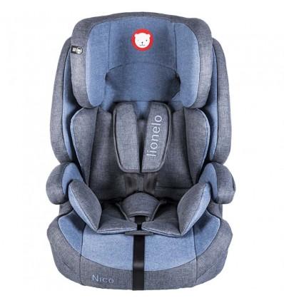 Автокресло детское Lionelo Nico синее, 9-36 кг