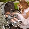 Детская прогулочная коляска Lionelo Lea серая