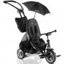 Велосипед трехколесный Puky CAT S6 Ceety черный с зонтиком