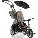 Велосипед трехколесный Puky CAT S6 Ceety бронзовый с зонтиком