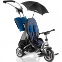 Велосипед триколісний Puky CAT S6 Ceety сріблястий з парасолькою