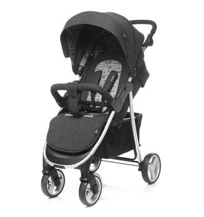 Дитяча прогулянкова коляска 4Baby Rapid Premium 2018 Silver
