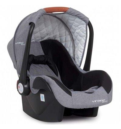 Автокресло детское Easy Go Virage Eco Черный, 0-13 кг