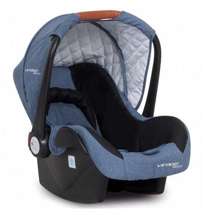 Автокресло детское Easy Go Virage Eco Джинс, 0-13 кг