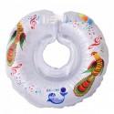 Детский круг для купания Tega Дельфин Белый музыкальный