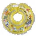 Дитячий круг для купання Tega Дельфін Жовтий