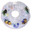 Детский круг для купания Tega Дельфин Прозрачный
