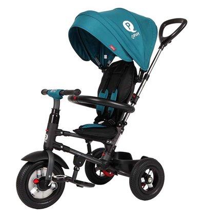 Велосипед трехколесный Sun Baby QPlay Rito Air Бирюзовый