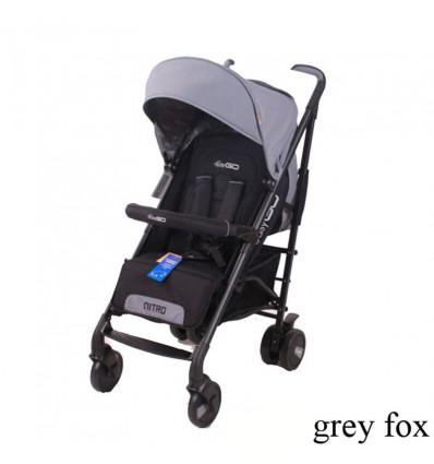 Детская прогулочная коляска EasyGo Nitro Grey Fox