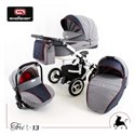 Дитяча коляска 3 в 1 Adbor Tori Sport 06