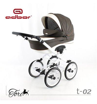 Детская коляска 2 в 1 Adbor Tori Classic 02