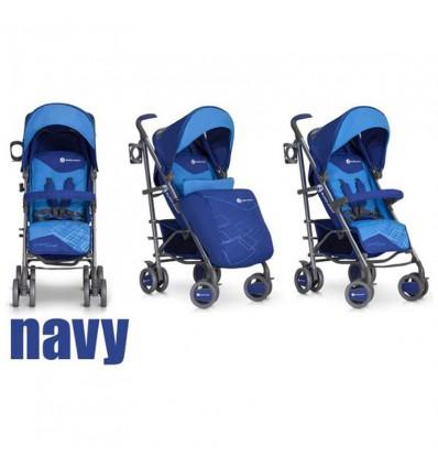 Детская прогулочная коляска EasyGo Cross Line Navy