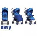 Дитяча прогулянкова коляска EasyGo Cross Line Navy