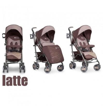Детская прогулочная коляска EasyGo Cross Line Latte