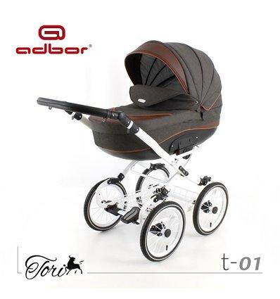 Детская коляска 3 в 1 Adbor Tori Classic 01
