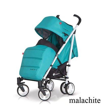 Детская прогулочная коляска EasyGo Mori Malachite