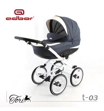 Детская коляска 3 в 1 Adbor Tori Classic 03