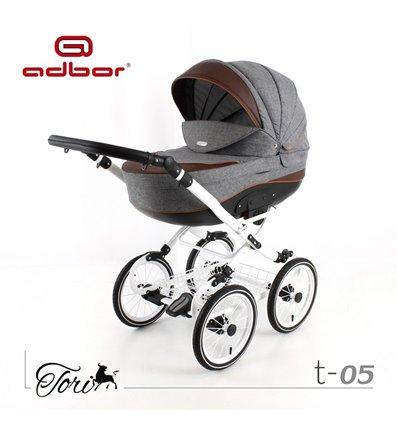 Детская коляска 3 в 1 Adbor Tori Classic 05