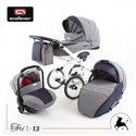 Дитяча коляска 3 в 1 Adbor Tori Classic 09