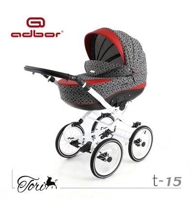 Детская коляска 3 в 1 Adbor Tori Classic 15