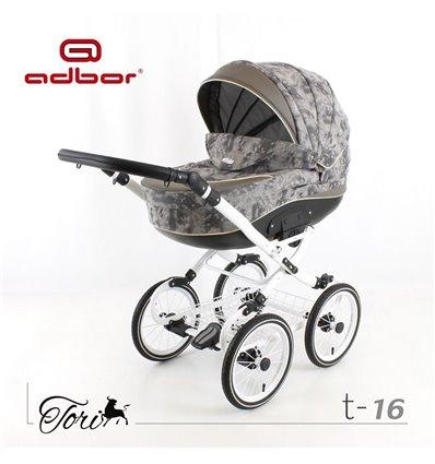 Дитяча коляска 3 в 1 Adbor Tori Classic 16