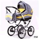 Детская коляска 2 в 1 Adbor Marsel Classic 114