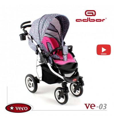 Прогулочная коляска Adbor Vero 03