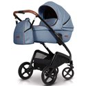 Дитяча універсальна коляска 2 в 1 Euro Cart Express синій