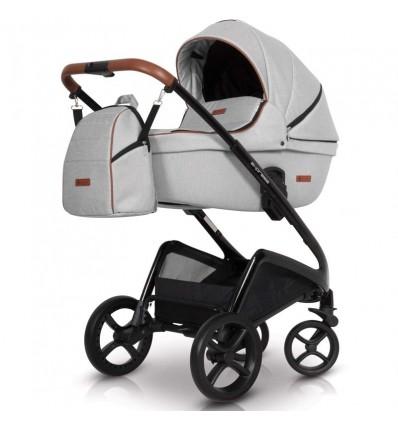 Дитяча універсальна коляска 2 в 1 Euro Cart Express сірий