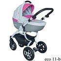 Детская коляска 2 в 1 Tutek Grander Play Eco 11-B