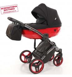 Детская коляска 2 в 1 Tako Junama Diamond S-Line Red