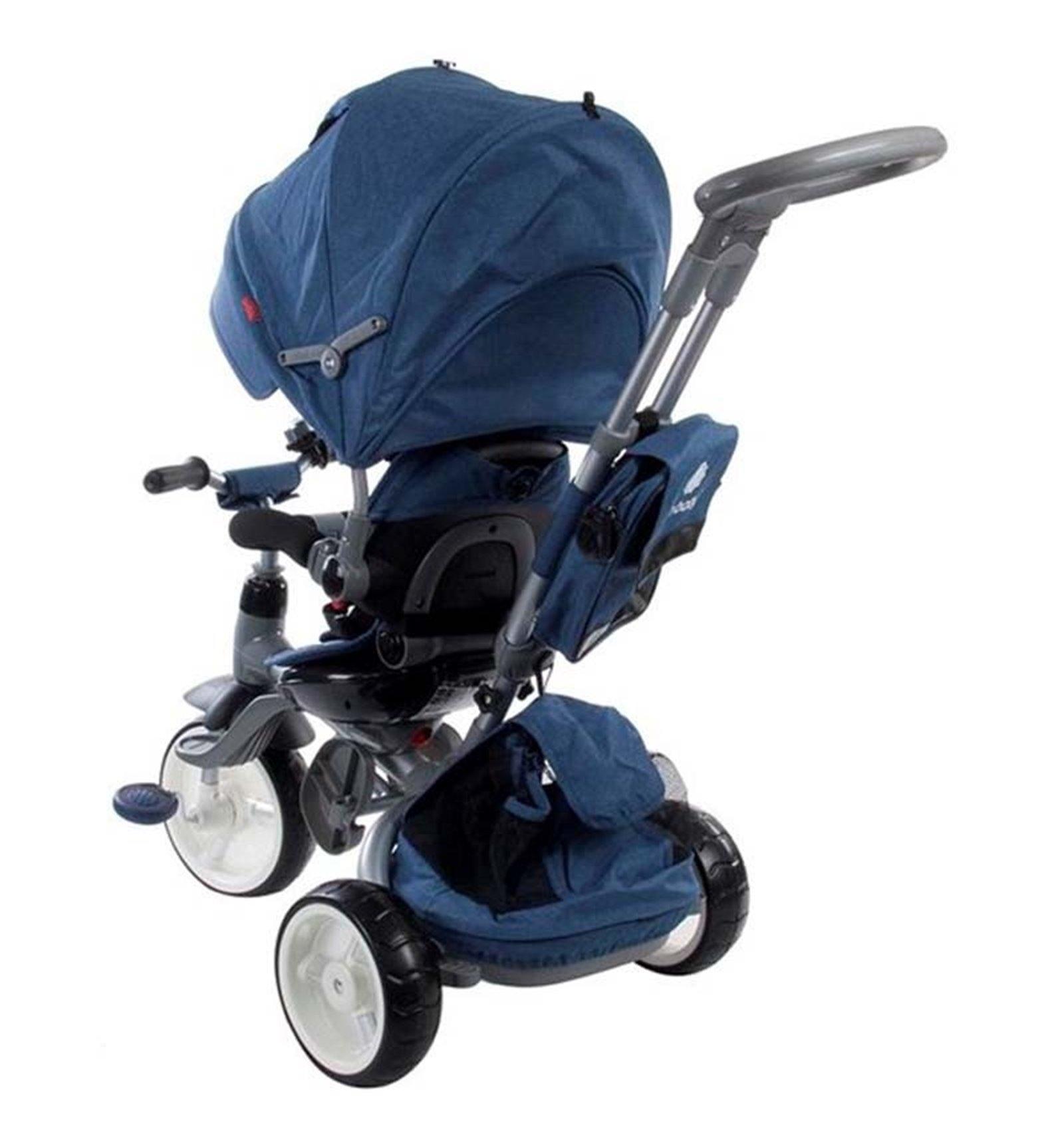 Велосипед триколісний дитячий Sun Baby Little Tiger Меланж Синій. 75fb883a19c11