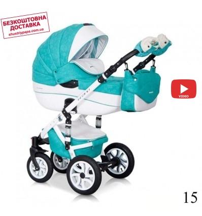 Детская коляска 2 в 1 Riko Brano ECCO 15