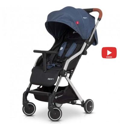 Дитяча прогулянкова коляска Euro Cart Spin Denim