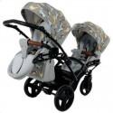 Универсальная коляска для двойни Tako Junama Cosatto Duo Slim